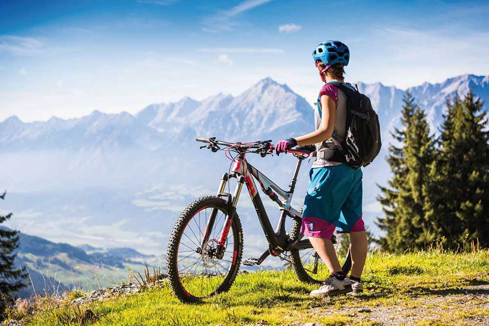 Mountainbiken am Kellerjoch